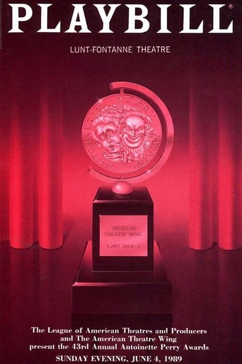 Tony Awards: The 43rd Annual Tony Awards