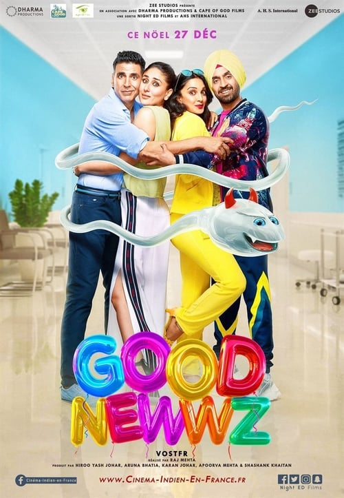 Good Newwz (2019) Poster