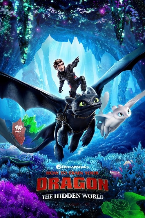 How To Train Your Dragon: The Hidden World 2D Movie Poster