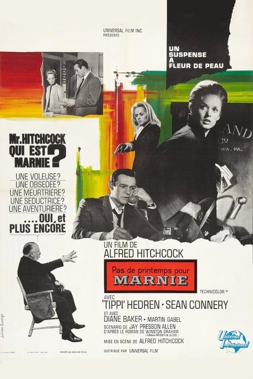 Regarder Pas de printemps pour Marnie (1964) Streaming HD FR