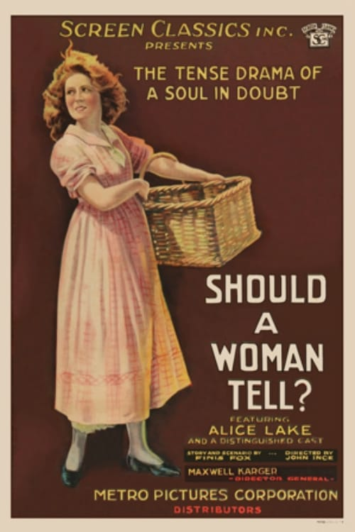 Should a Woman Tell?