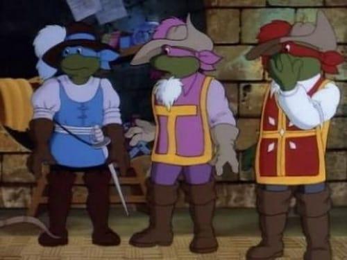 Teenage Mutant Ninja Turtles: Season 3 – Episode Four Musketurtles