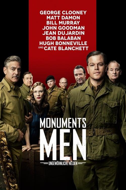 Monuments Men - Ungewöhnliche Helden - Poster