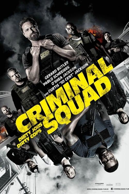 Criminal Squad - Poster