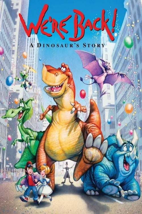 Watch We're Back! A Dinosaur's Story (1993) Best Quality Movie