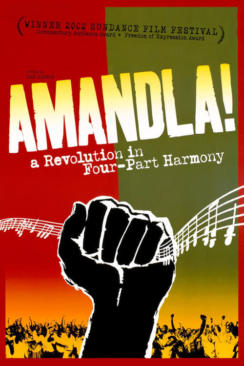 Largescale poster for Amandla! A Revolution in Four-Part Harmony