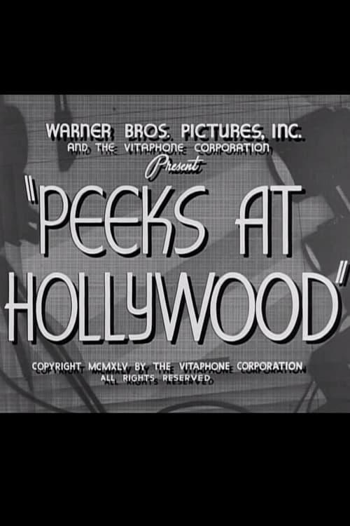 Ver Peeks at Hollywood En Línea