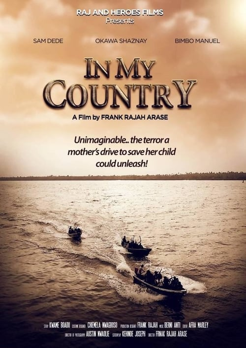 In My Country - Poster
