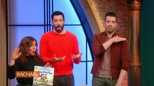 Rachael Ray - Season 14 - Episode 7: It's show and tell with HGTV's Property Brothers
