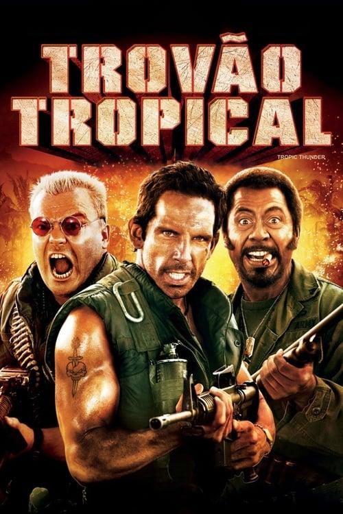 Assistir Trovão Tropical - HD 720p Dublado Online Grátis HD