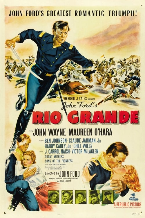 Watch Rio Grande (1950) Best Quality Movie