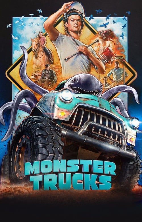 Monster Trucks Affiche de film