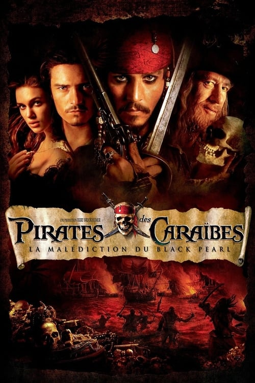 Regarder Pirates des Caraïbes : La Malédiction du Black Pearl (2003) Streaming HD FR