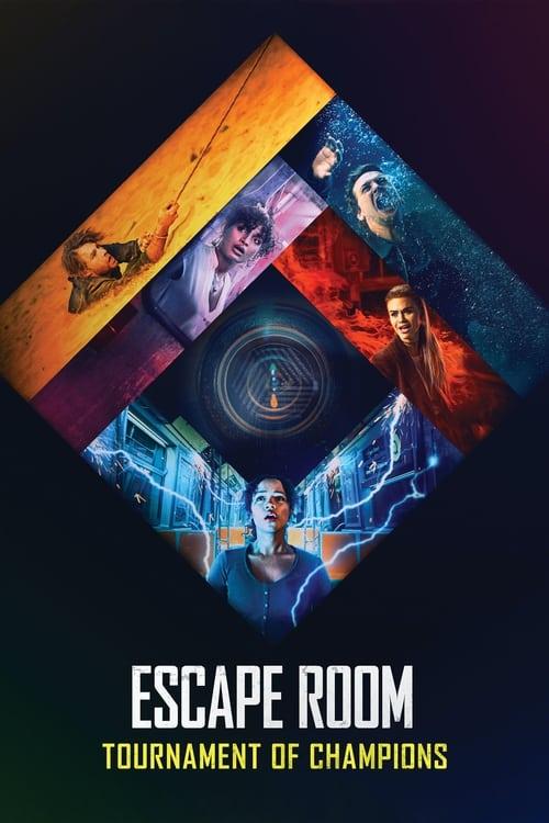 Grootschalige poster van Escape Room: Tournament of Champions