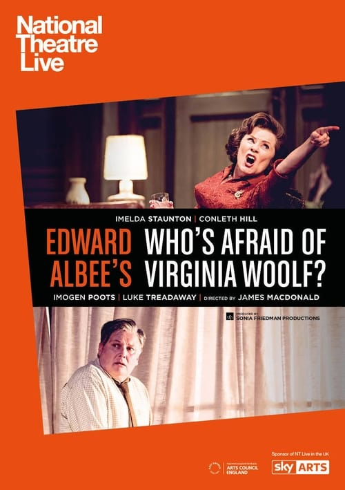 Here National Theatre Live: Who's Afraid of Virginia Woolf?
