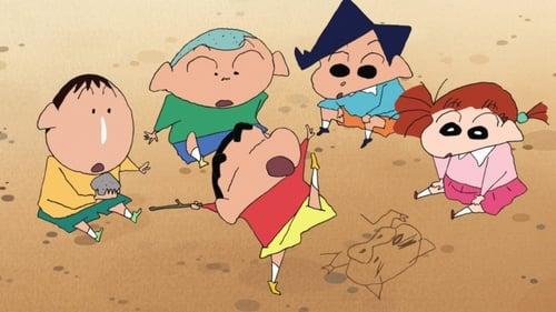 Poster della serie Crayon Shin-chan Spin-off