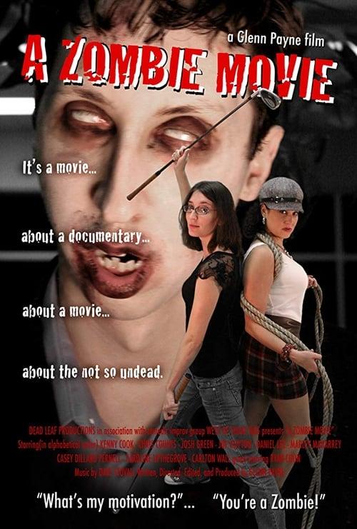 A Zombie Movie poster