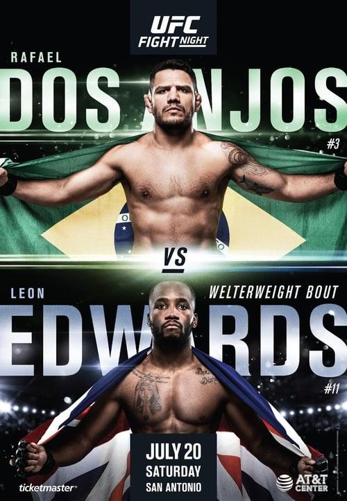 UFC on ESPN: Dos Anjos vs. Edwards