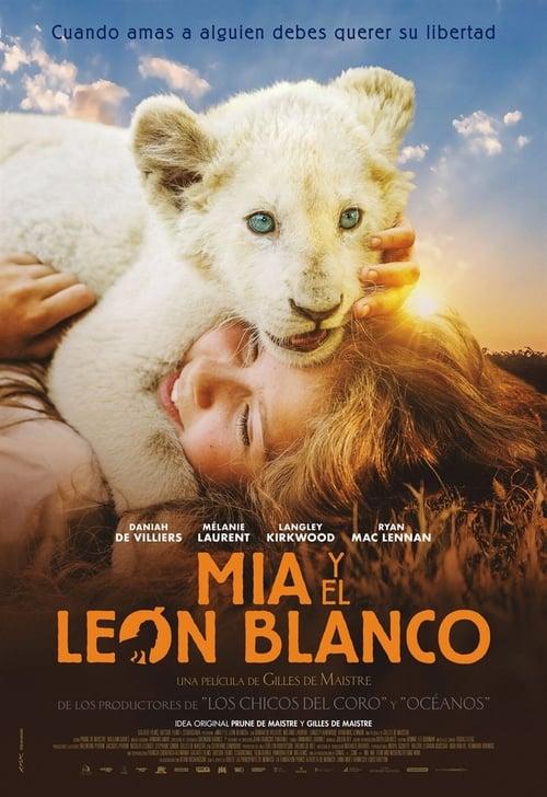 Imagen Mia y el león blanco