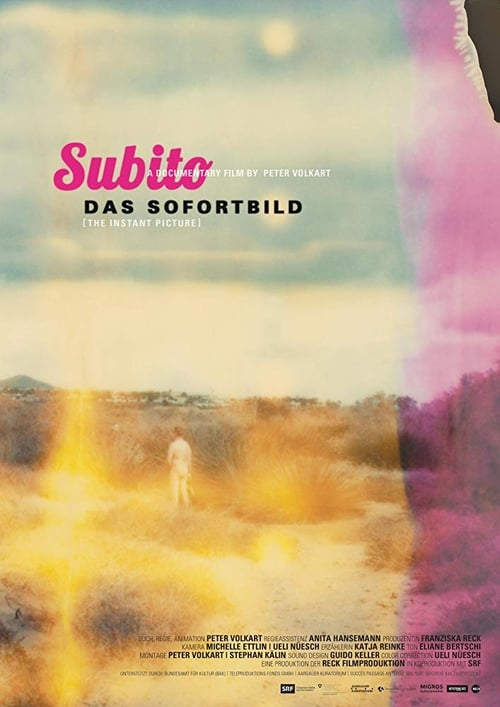 "Movie poster for ""Subito – Instant Photography""."