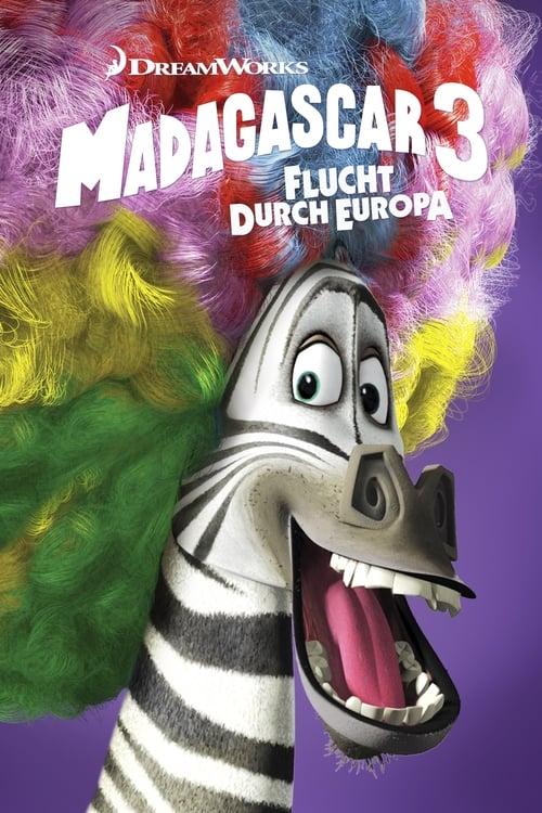 Madagascar 3 - Flucht durch Europa - Animation / 2012 / ab 6 Jahre