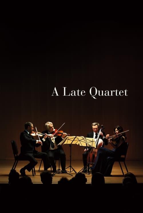 A Late Quartet Poster