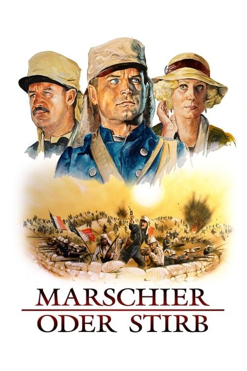 Marschier oder stirb - Poster
