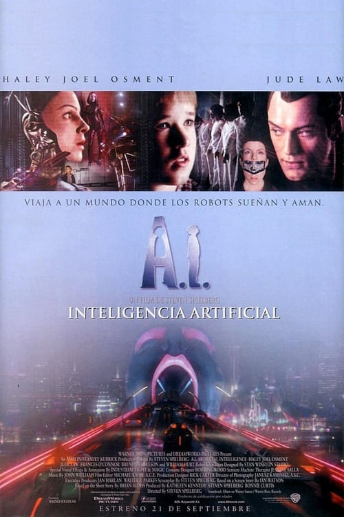 A.I. Artificial Intelligence Peliculas gratis