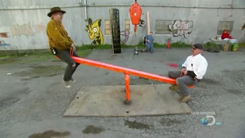 MythBusters: Season 2009 – Épisode Seesaw Saga