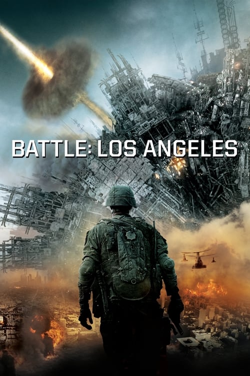 Poster for the movie, 'Battle Los Angeles'