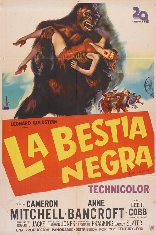 Mira La Película La bestia negra (El gorila asesino) Gratis En Línea