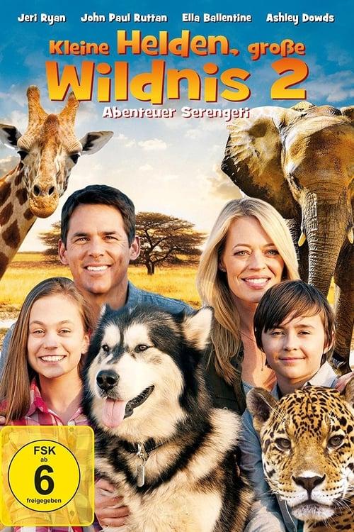 Poster von Kleine Helden, große Wildnis 2 - Abenteuer Serengeti