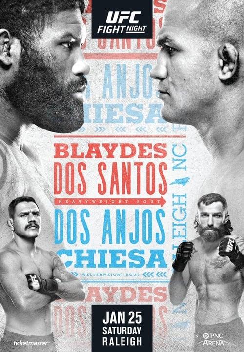 UFC Fight Night 166: Blaydes vs. Dos Santos (2020)