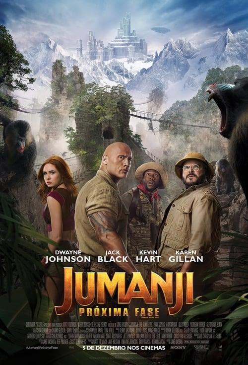 Assistir Jumanji: Bem-Vindo à Selva
