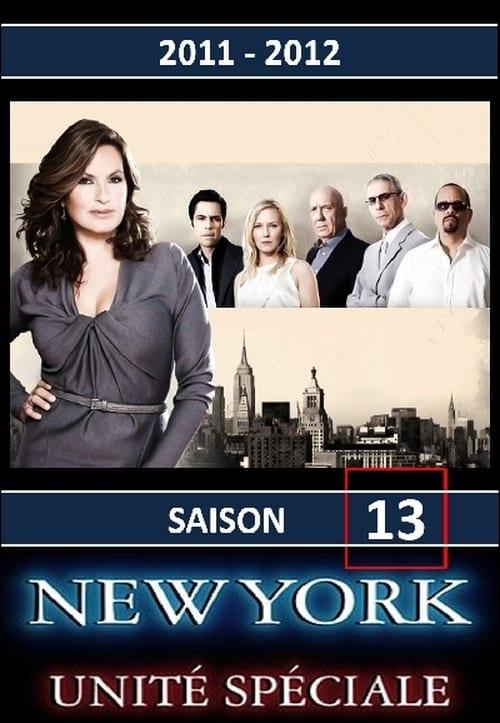 New York Unité Spéciale: Saison 13