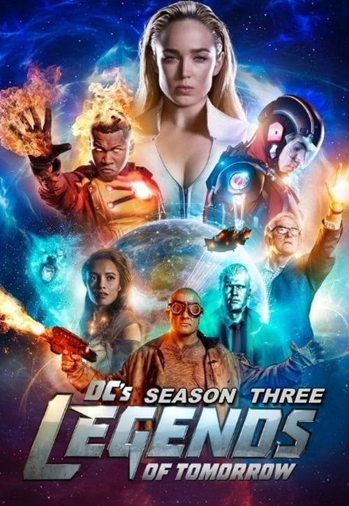 Watch DC's Legends of Tomorrow Season 3 in English Online Free