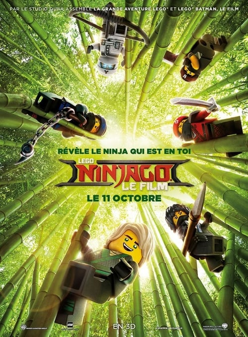 Voir Lego Ninjago, le film (2017) streaming Disney+ HD