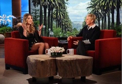 The Ellen DeGeneres Show: Season 9 – Episode Kaley Cuoco, Adam Scott, Lupe Fiasco