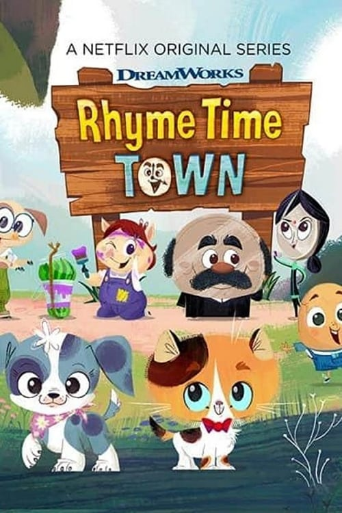 Banner of Rhyme Time Town