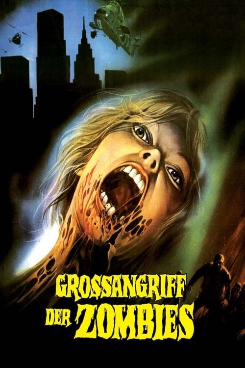 Großangriff der Zombies - Poster