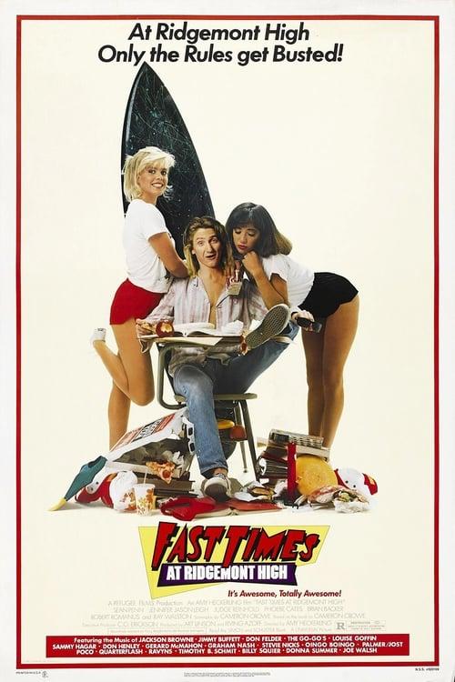 Fast Times at Ridgemont High - Poster