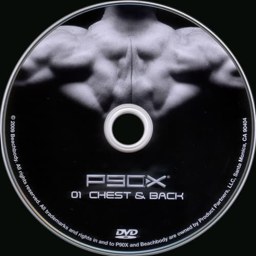 Largescale poster for P90X - Chest & Back