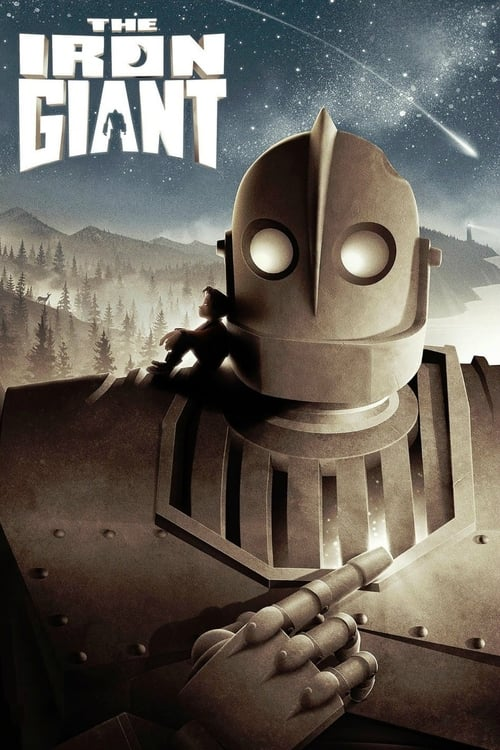 Largescale poster for The Iron Giant