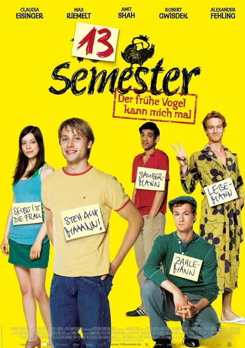 The poster of 13 Semester
