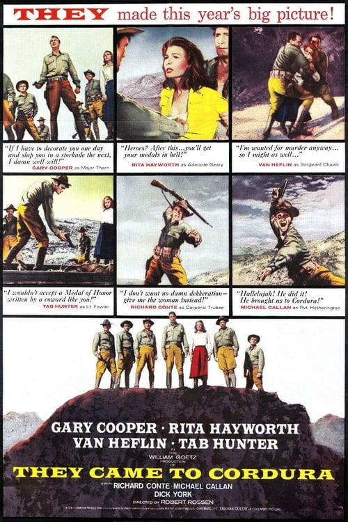Watch They Came to Cordura (1959) Best Quality Movie