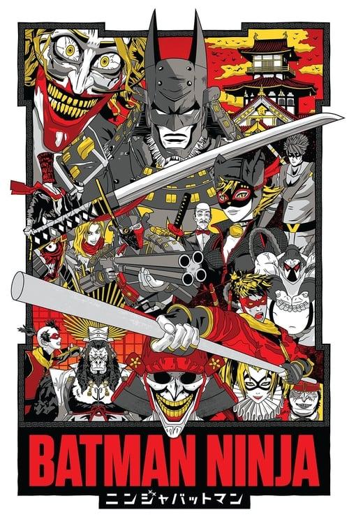 Poster. Batman Ninja (2018)