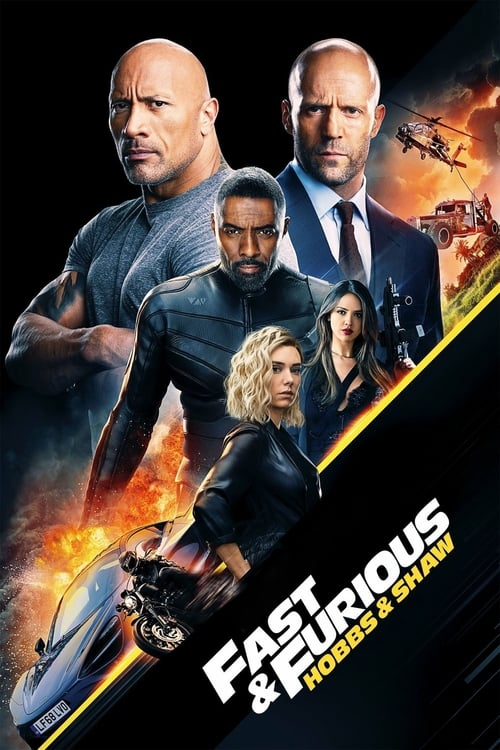 Hobbs and Shaw IMAX Movie Poster