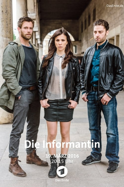 The poster of Die Informantin