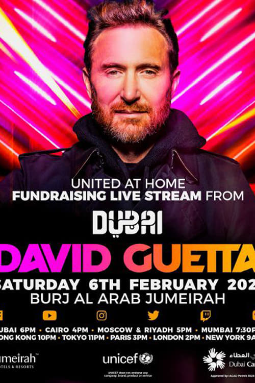 David Guetta | United at Home - Fundraising Live from Dubai