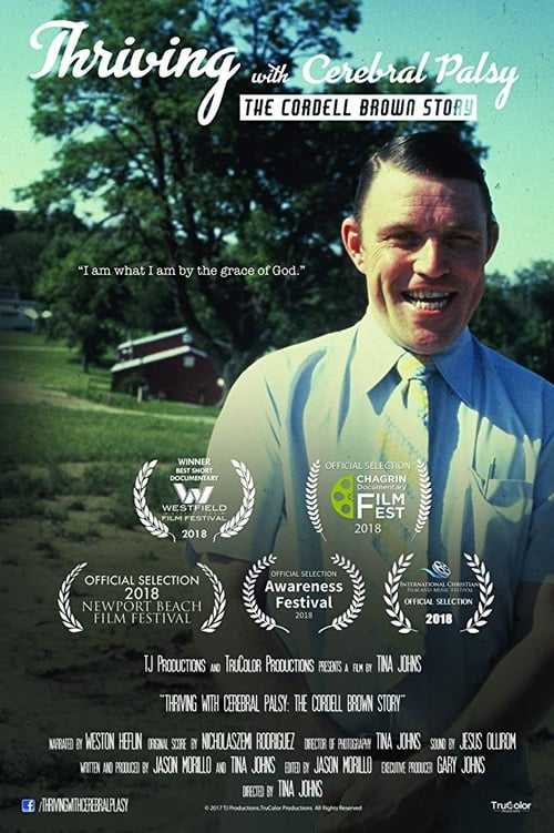 فيلم Thriving with Cerebral Palsy: The Cordell Brown Story كامل مدبلج